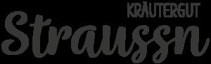 Logo - Schwarz - Straussn Kräutergut - Foto: Alexander Moser - www.alexander-moser.at