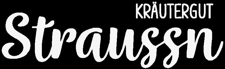 Logo - Weiß - Straussn Kräutergut - Foto: Alexander Moser - www.alexander-moser.at